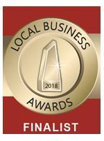local business award finalist 2018