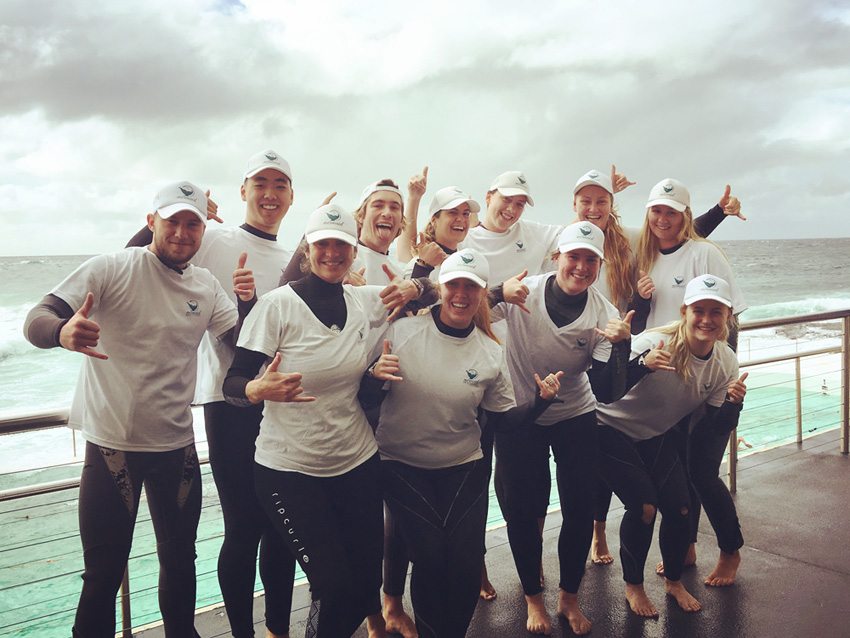 mermaid swim academy team