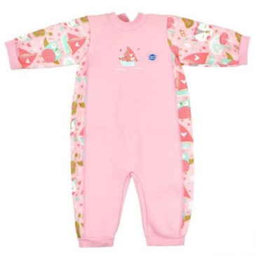 baby wetsuit pink