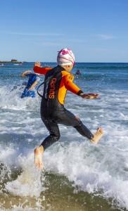 ocean swimming kids
