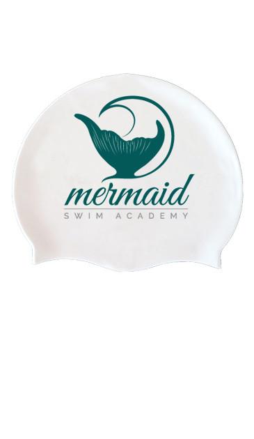 swimming cap white