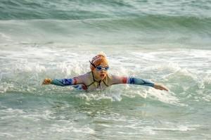 kids ocean swimming