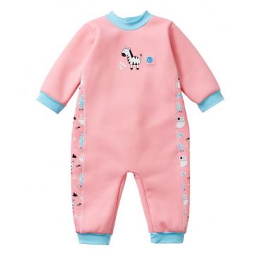 baby wetsuit nina's ark pink